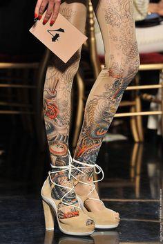 Jean Paul Gaultier Paris Fashion Week Spring 2012 Jean Paul Gaultier f2496eff8672