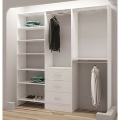 Reach In Closet Ideas With Sliding Doors Library Ladder Closet Organizers Baskets Key: 1229455709 Front Closet, Reach In Closet, Corner Wardrobe Closet, Ikea Pax Closet, Open Wardrobe, Attic Closet, Bedroom Closet Design, Closet Designs, Narrow Closet Design