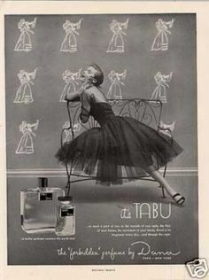 "Perfume: Tabu | Laren Stover's pinup fabulous book ""The Bombshell Manual of Style"""