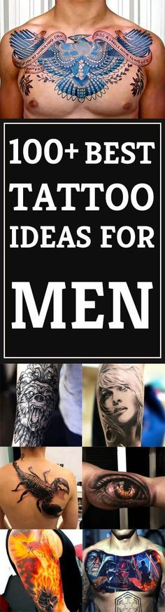 Many men think that men's tattoo ideas have to be masculine or rough and tough. That is not the case. A man can wear a flower tattoo just as well as a..