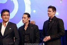 Carlos, David and Urs