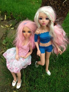My two girls come home :) !!!! I'm so happy I love them Tan minifee Chloe and Celine
