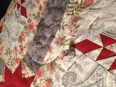 Hand quilting by Caron Mosey of Michigan Quilts!