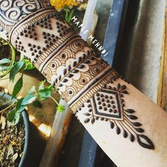 "1,484 Likes, 16 Comments - Bridgette Bartlett (@maplemehndi) on Instagram: ""All settled into life in #Mysore for the next two months :) Open for henna appointments here until…"""