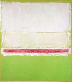 Rothko White Center | mark rothko white center 1950 private collection
