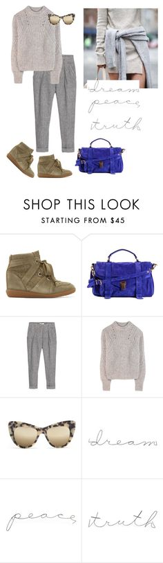 """""""Love, dream & truth"""" by josemaisch ❤ liked on Polyvore featuring Isabel Marant, Proenza Schouler, MANGO and STELLA McCARTNEY"""