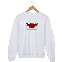 No chance for romance Sweatshirt Sweater Unisex Adults size S to 2XL