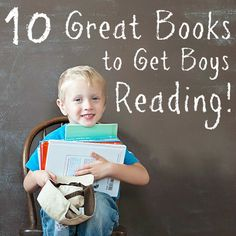Daily Mom » 10 Great Books to Get Boys Reading