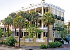 Beautiful Mansion along the East Battery - Charleston, SC