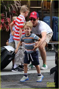 Matt Bomer: My Three Sons!