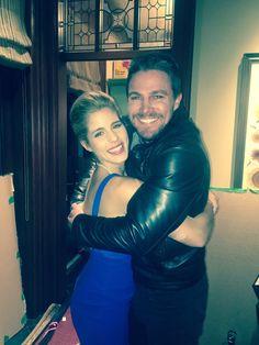 Stephen and Emily <3 #Arrow100