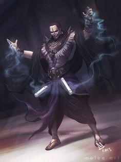 Shakuni - The Sorcerer King of Gandhara by molee