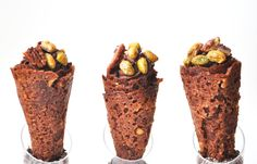 IN THE MOOD FOR SWEETS: mousse de chocolate em cone | chocolate mousse in a cone