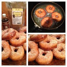 Bourbon Vanilla Sugar Donuts