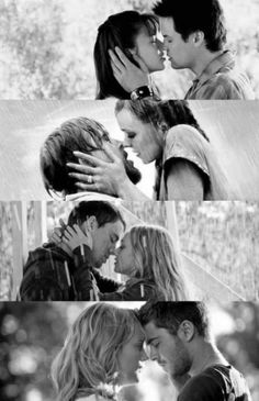 A Walk to Remember, The Notebook, Dear John, and the Lucky One