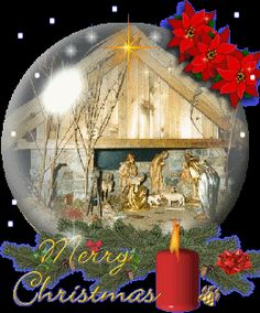 KERSTGLOBES, kerstanimaties en kerstplaatjes bij Kerst bij Annemiek