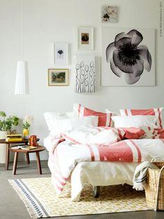 61 enkla och snabba sätt att förnya ditt sovrum - Sköna hem #bedroom #decor #ideas