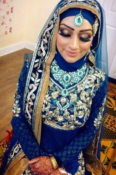 Muslim Wedding Dress In India Bridal Hijab, Hijab Bride, Bridal Dresses, Hijabi Wedding, Muslimah Wedding Dress, Muslim Brides, Muslim Women, Hijabs, Muslim Fashion