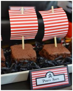 Pirate Party Birthday Party Ideas | Photo 9 of 17 | Catch My Party