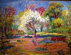 Bomen in voorjaarsbloei, Johan Dijkstra Andre Derain, Raoul Dufy, Expressionist Artists, How To Express Feelings, Georges Braque, Henri Matisse, Landscapes, Bloom, Spring