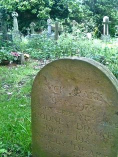Nick Drake's Grave | Tanworth in Arden, England