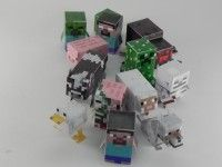 3D foldable Minecraft printables - stocking suffers for the minecraft obsessed cousins