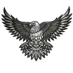 tattoo eagle chest * tattoo eagle - tattoo eagle arm - tattoo eagle small - tattoo eagle back - tattoo eagle old school - tattoo eagle feminine - tattoo eagle geometric - tattoo eagle chest Bald Eagle Tattoos, Biker Tattoos, Top Tattoos, Trendy Tattoos, Tribal Tattoos, Sleeve Tattoos, Tattoos For Guys, Belly Tattoos, Tatoo 3d