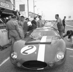 Maserati lors des 24 Heures du Mans en 1964