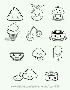 cute little doodles