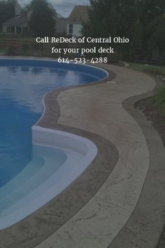 Call ReDeck of Central Ohio for your pool deck 614-523-4288