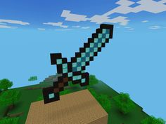 My Minecraft diamond sword
