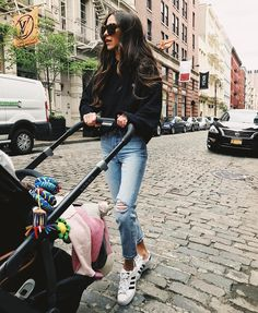 """18.5k Likes, 194 Comments - Arielle Noa Charnas (@somethingnavy) on Instagram: """"Cute Instagram photo vs. the truth: Ruby wasn't ready to nap so we figured we'd take her to go get…"""""""