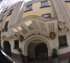 Av México colonia Hipódromo Condesa 1930-40 Art Deco