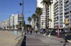 La Rambla....boardwalk in the capital Montevideo