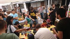 After Earthquake in Mexico these guys decided to share the Joy in shelters.