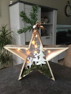 Christmas Parol, Christmas Wood Crafts, Christmas Star, Christmas Ornaments, Xmas Decorations, Xmas Tree, Diy Crafts For Kids, Holiday Decor, Pretty Star