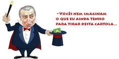 IRAM DE OLIVEIRA - opinião: Aécio Neves pensava que só o PT iria se ferrar
