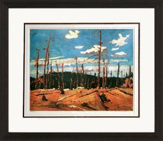 Burnt Over Forest - Numbered By Artist | Group Of Seven | Framed Art | Wall Decor | Art | Picture | Home Decor