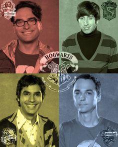 Big Bang Theory meets Hogwarts