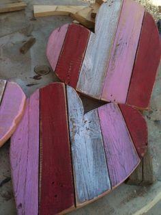 Wooden pallet heart sm by DoodlesbyDiana on Etsy