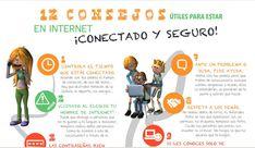 """Hola: Compartimos una interesante infografía sobre """"Alumnos - 12 Consejos de Seguridad en Internet"""" Un gran saludo.  Visto en: enmarchaconlastic.educarex.es Descargue la infografía desde: AQU..."""