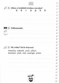 Helyesírás Firka Manóval Sheet Music, Math Equations, Music Sheets
