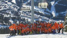 Ski Canada Test 2015 team at Sun Peaks Resort in BC.  photo: Adam Stein