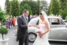 Welcome to The Castle Oaks House Hotel in Limerick. Located in Castleconnell, beside the River Shannon, our manor house is the perfect destination. Wedding Car, Wedding 2015, Wedding Dresses, Oaks House, Country House Hotels, Champagne, Castle, Weddings, Bride Dresses