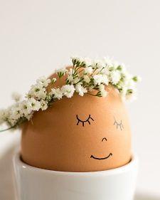 Floral Wreath Eggs | Martha Stewart