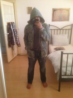 """Outfit 2:""""when you try to be gangsta, but everyone knows you're just feelin' chilly"""""""