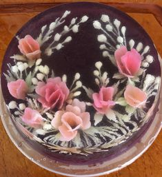 Puding Art, Jelly Flower, Cake Art, 3 D, Food And Drink, Pasta, Desserts, Flowers, Pastries