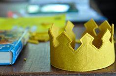 Comment faire une couronne royale sentit