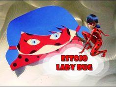 DIY.: Estojo LadyBug - Miraculous: As Aventuras de Ladybug #diy #doityourself…
