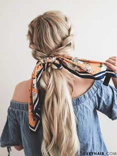 Hair scarf hairstyles